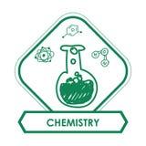Σχέδιο επιστήμης και χημείας Στοκ φωτογραφία με δικαίωμα ελεύθερης χρήσης