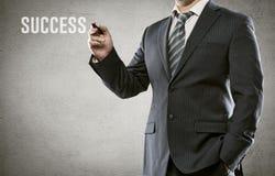 Σχέδιο επιχειρηματιών Στοκ Εικόνα