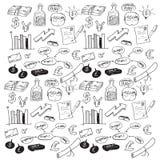 Σχέδιο επιχειρησιακού Doodle Στοκ φωτογραφίες με δικαίωμα ελεύθερης χρήσης