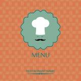 Σχέδιο επιλογών για το εστιατόριο Στοκ φωτογραφίες με δικαίωμα ελεύθερης χρήσης