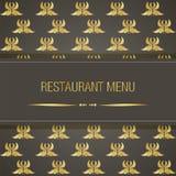 Σχέδιο επιλογών εστιατορίων Στοκ εικόνα με δικαίωμα ελεύθερης χρήσης
