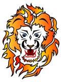 Σχέδιο δερματοστιξιών λιονταριών Στοκ φωτογραφίες με δικαίωμα ελεύθερης χρήσης