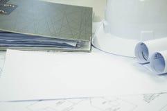 Σχέδιο εφαρμοσμένης μηχανικής με το ελεύθερο άσπρο διάστημα για το κείμενο Στοκ Εικόνες