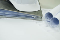 Σχέδιο εφαρμοσμένης μηχανικής με το ελεύθερο άσπρο διάστημα Στοκ εικόνες με δικαίωμα ελεύθερης χρήσης
