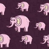 Σχέδιο ελεφάντων Στοκ Εικόνες