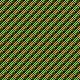 Σχέδιο διαμαντιών για τα υφάσματα σε τρία χρώματα Στοκ φωτογραφίες με δικαίωμα ελεύθερης χρήσης