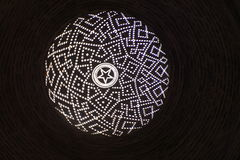 Σχέδιο διαμαντιών στο θόλο Στοκ Φωτογραφία
