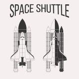 Σχέδιο διαστημικών λεωφορείων Στοκ Φωτογραφία