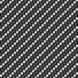 Σχέδιο ινών άνθρακα Tileable Στοκ Εικόνες