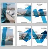 Σχέδιο κάλυψης φυλλάδιων Στοκ Εικόνες