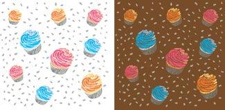 Σχέδιο κέικ Στοκ Εικόνες