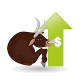 Σχέδιο κέρδους, χρήματα και έννοια χρηματοδότησης Στοκ Εικόνα