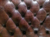 Σχέδιο και σύσταση καναπέδων Leathet Στοκ Εικόνες