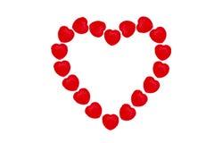 Σχέδιο καραμελών καρδιών Στοκ φωτογραφία με δικαίωμα ελεύθερης χρήσης