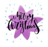 Σχέδιο καρτών Χαρούμενα Χριστούγεννας Στοκ φωτογραφία με δικαίωμα ελεύθερης χρήσης