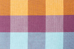Σχέδιο καρό, σύσταση loincloth του υφάσματος Στοκ φωτογραφίες με δικαίωμα ελεύθερης χρήσης