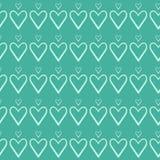 Σχέδιο καρδιών ημέρας βαλεντίνων Στοκ Φωτογραφία