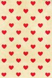 Σχέδιο καρδιών Στοκ Φωτογραφίες