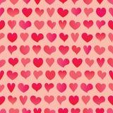 Σχέδιο καρδιών Στοκ εικόνα με δικαίωμα ελεύθερης χρήσης