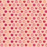 Σχέδιο καρδιών Στοκ Εικόνες