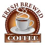 Σχέδιο καφέ φρέσκο ελεύθερη απεικόνιση δικαιώματος