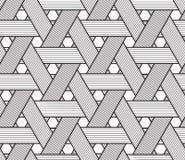Σχέδιο καλαθοπλεκτικής Μόνο μαύρος στο διαφανές υπόβαθρο Στοκ Εικόνες