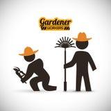 Σχέδιο κηπουρών Στοκ Φωτογραφία