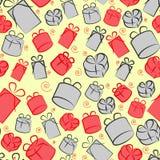 Σχέδιο κιβωτίων δώρων Στοκ Εικόνα