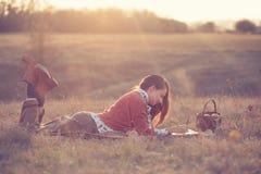 Σχέδιο κοριτσιών Hipster στοκ εικόνες με δικαίωμα ελεύθερης χρήσης
