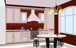 Σχέδιο κουζινών Στοκ Εικόνες