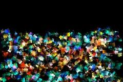 Σχέδιο κυβισμού χρώματος διανυσματική απεικόνιση