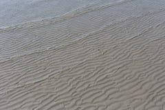 Σχέδιο κυμάτων και άμμου κορυφογραμμών Στοκ φωτογραφίες με δικαίωμα ελεύθερης χρήσης