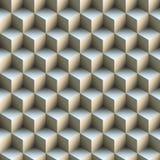 Σχέδιο κύβων πυραμίδων άνευ ραφής Στοκ Εικόνες