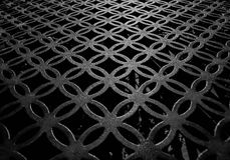 Σχέδιο κύκλων και τετραγώνων Στοκ Εικόνες