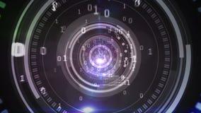 Σχέδιο κώδικα τεχνολογίας στο ανθρώπινο μάτι φιλμ μικρού μήκους