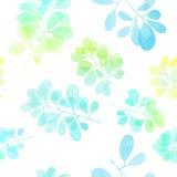 Σχέδιο κλάδων Watercolor Στοκ φωτογραφίες με δικαίωμα ελεύθερης χρήσης