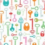 Σχέδιο κλειδιών χρώματος Στοκ φωτογραφία με δικαίωμα ελεύθερης χρήσης