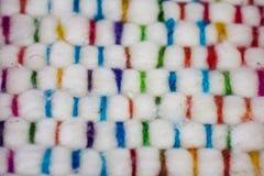 Σχέδιο μαλλιού προβάτων Στοκ φωτογραφία με δικαίωμα ελεύθερης χρήσης