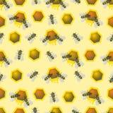 Σχέδιο μελισσών Στοκ Εικόνες