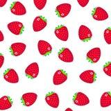 Σχέδιο με μια φράουλα Στοκ φωτογραφίες με δικαίωμα ελεύθερης χρήσης