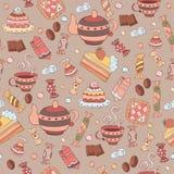 Σχέδιο με τα γλυκά Στοκ φωτογραφίες με δικαίωμα ελεύθερης χρήσης
