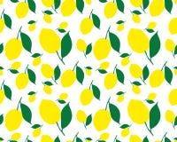 Σχέδιο με τα λεμόνια Στοκ Εικόνες