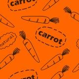 Σχέδιο με τα καρότα Στοκ φωτογραφία με δικαίωμα ελεύθερης χρήσης