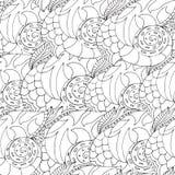 Σχέδιο με τα κοχύλια Στοκ εικόνα με δικαίωμα ελεύθερης χρήσης
