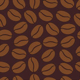 Σχέδιο με τα φασόλια καφέ Στοκ φωτογραφία με δικαίωμα ελεύθερης χρήσης