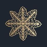 σχέδιο με τη floral διακόσμηση δαντελλών για τη συλλογή Χριστουγέννων Στοκ φωτογραφίες με δικαίωμα ελεύθερης χρήσης