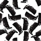 Σχέδιο με τις μπότες Στοκ εικόνες με δικαίωμα ελεύθερης χρήσης
