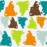 Σχέδιο με τον παφλασμό χρώματος Στοκ εικόνα με δικαίωμα ελεύθερης χρήσης