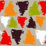 Σχέδιο με τον παφλασμό χρώματος Στοκ Εικόνες