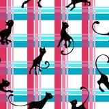 Σχέδιο με το γατάκι Στοκ εικόνες με δικαίωμα ελεύθερης χρήσης